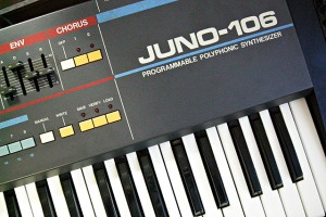 Roland Juno 106 Jim Atwood in Japan
