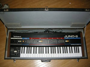 Roland Juno 6 with Case
