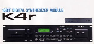 Kawai K4r 16bit Digital Synthesizer Module