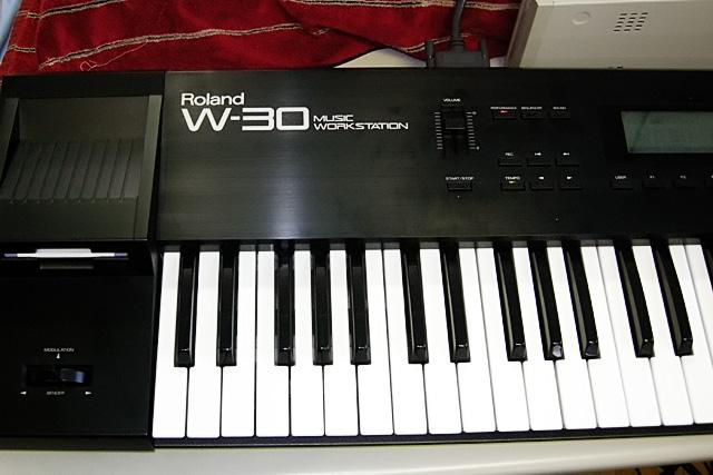 roland w 30 music workstation found jim atwood in japan rh jimatwood wordpress com Roland W-30 Sequencer roland w30 manual download