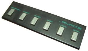 Yamaha MFC06 Pedal Board