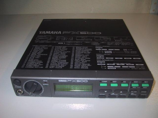 Yamaha Vocal Effects Processor