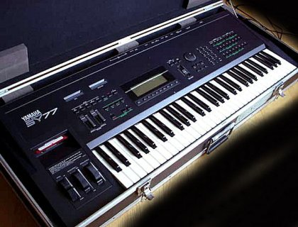 Yamaha SY77 Music Synthesizer – Jim Atwood in Japan