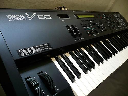 Yamaha V50 Digital Synthesizer – Jim Atwood in Japan