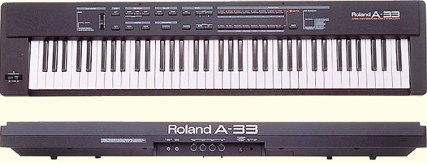 roland a 33 midi keyboard controller jim atwood in japan. Black Bedroom Furniture Sets. Home Design Ideas