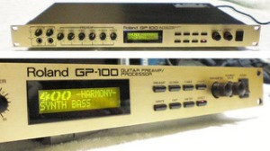 Roland GP-100 Guitar Preamp Effects Processor