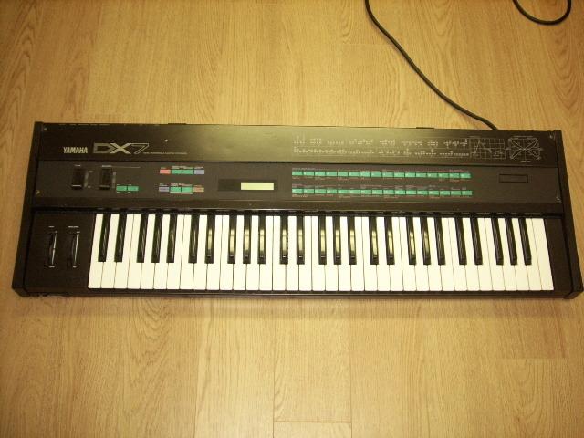Yamaha DX-7 Programmable Algorithm Digital Synthesizer – Jim Atwood