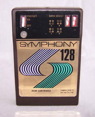 Yamaha DX7 Symphony 128 Ram Card