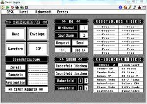 Steem Atari Kawai K4 Robot Editor