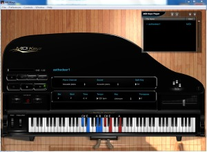 MIDIKeyz Instructional Keyboard Software