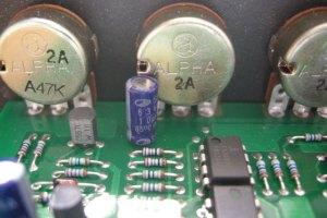 MAM MB33 mkII Alpha A47K Pots