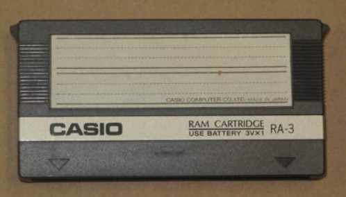 Casio RA-3 Ram Cartridge for Casio CZ-5000 Synth