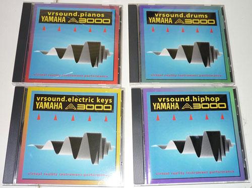 VRSounds Yamaha A3000 Sample CDs