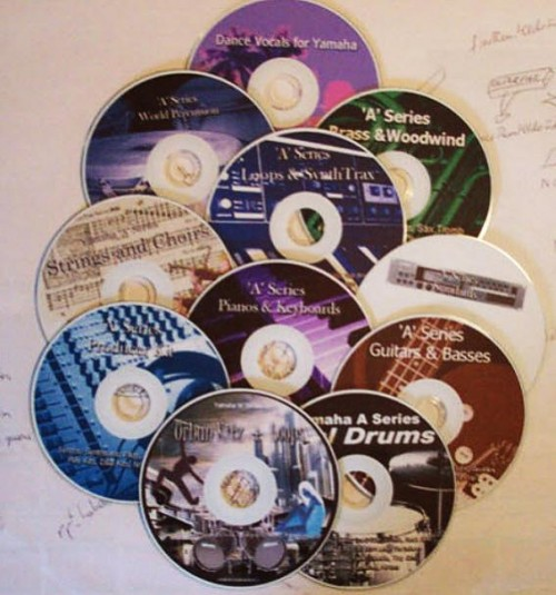 Yamaha A3000 Sample CDs