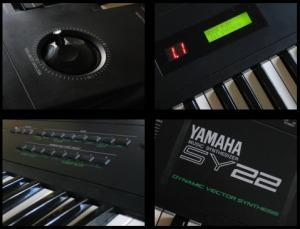 Yamaha SY22 Vector Synthesizer