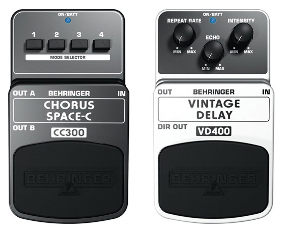 Behringer CC300 VD400 Analog Pedals for Synthesizers – Jim Atwood in