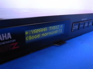 Yamaha TX81Z FM Tone Generator