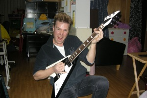 Michael Schenker Flying V Guitar