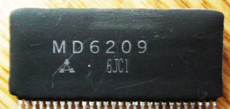 Mitsubishi MD6209 DAC Roland S-50 IC14 Chip