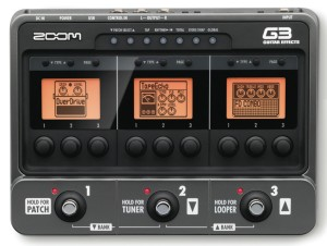 Zoom G3 Effects