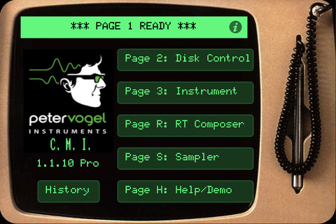 Peter Vogel Fairlight CMI Pro