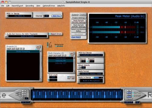 Sample Robot Mac OSX
