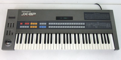Roland JX-8P Stuck Note Syndrome – Jim Atwood in Japan