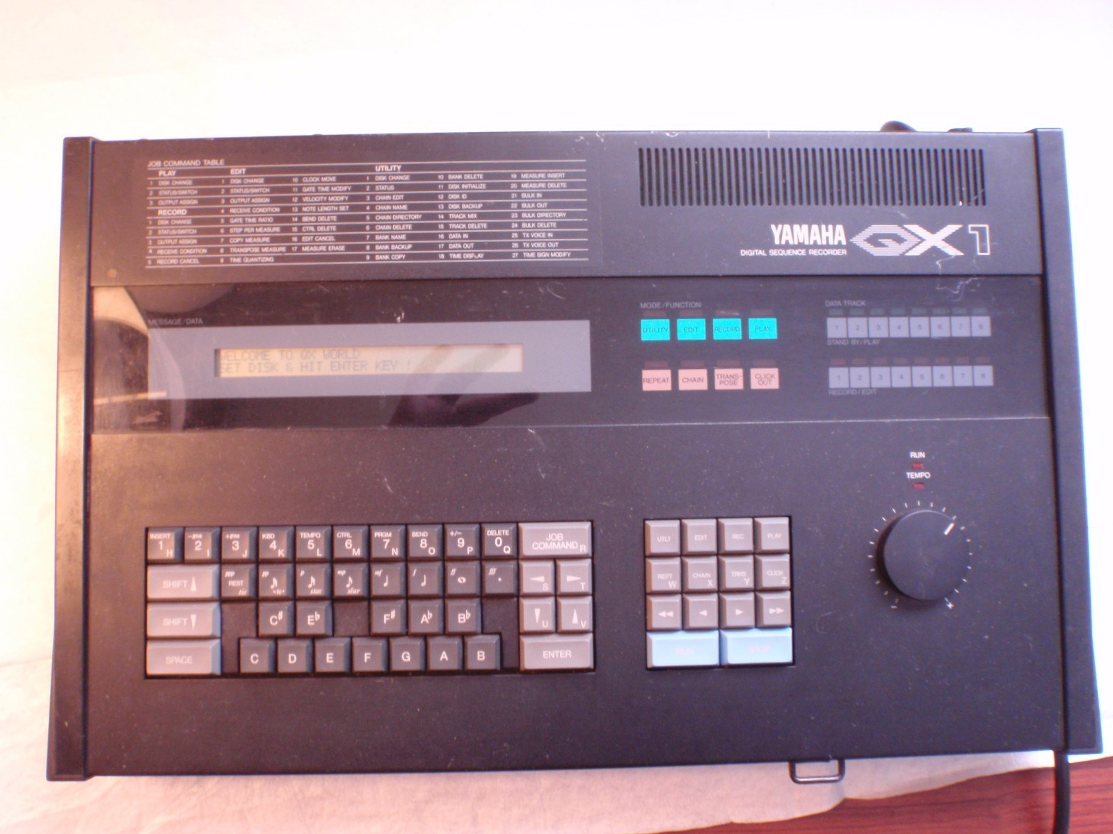 Yamaha QX1 Sequencer Replacement Floppy Drive – Jim Atwood in Japan