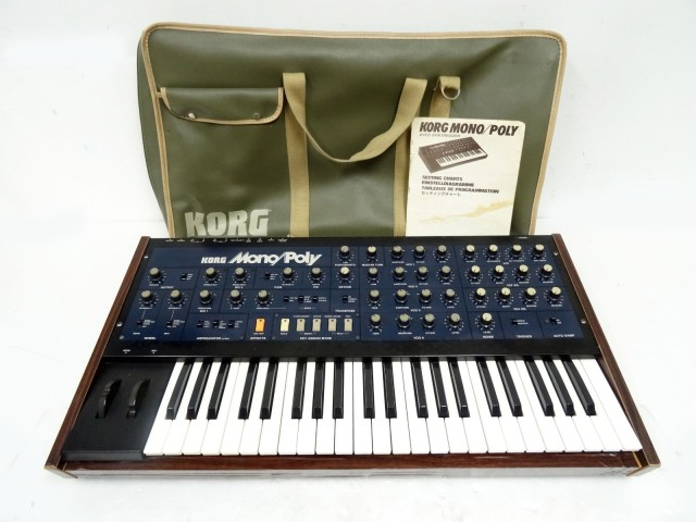 Korg Mono/Poly Synthesizer