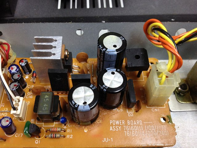 Roland Juno-2 Electrolytic Capacitors