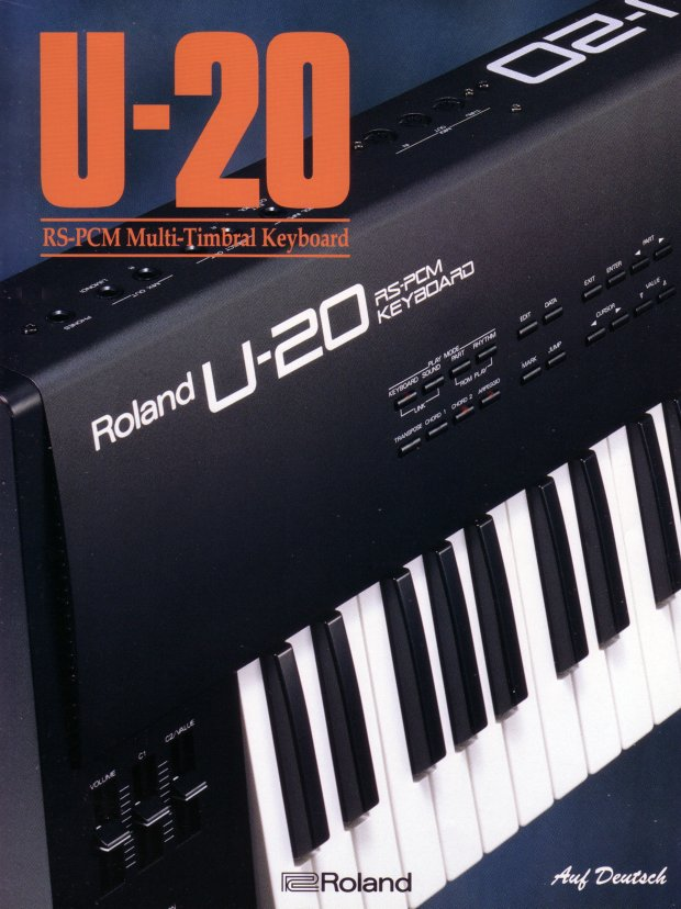 Roland U-20 Synthesizer Review – Jim Atwood in Japan