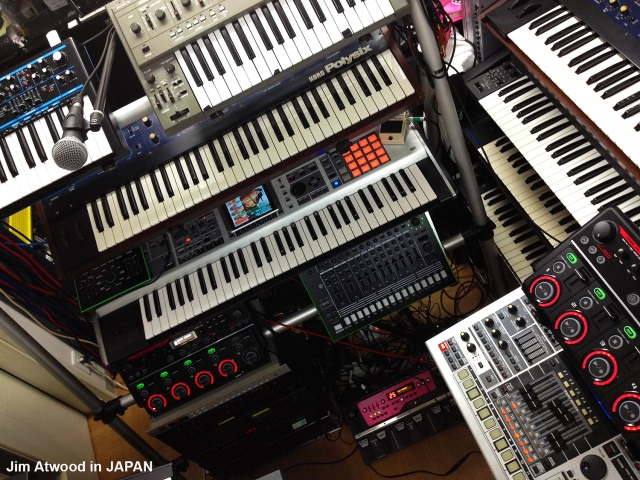 Jim Atwood in Japan Live Setup