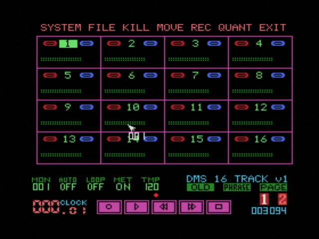 DMS1 Mk2 MIDI RECORDER