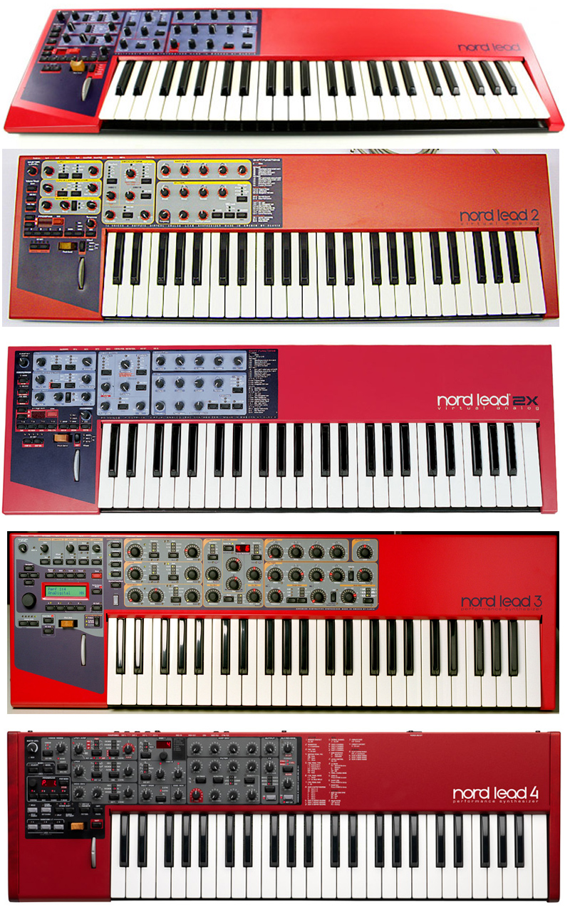 which nord lead synthesizer do i like the best nord lead 1 2 2x 3 or nord lead 4 jim. Black Bedroom Furniture Sets. Home Design Ideas