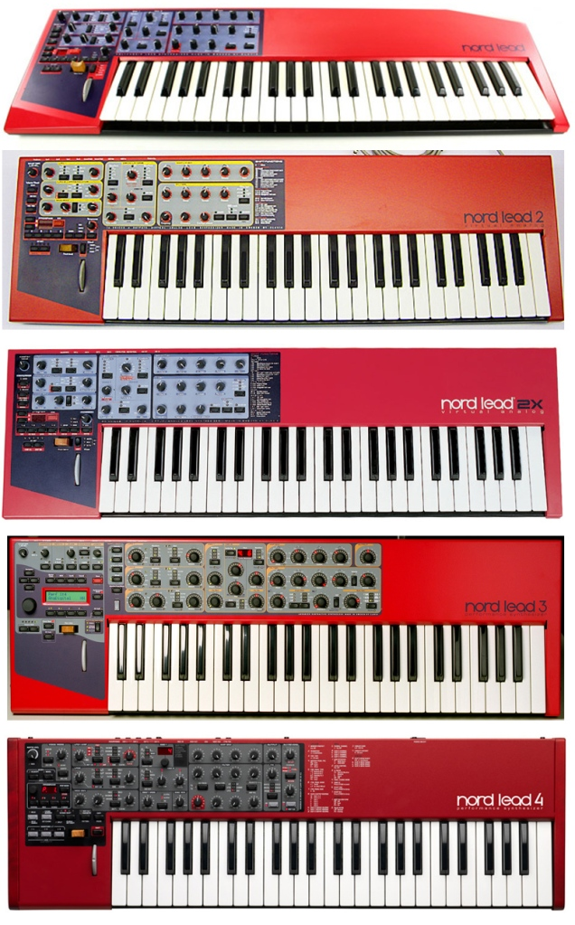 Nord Lead Synthesizers