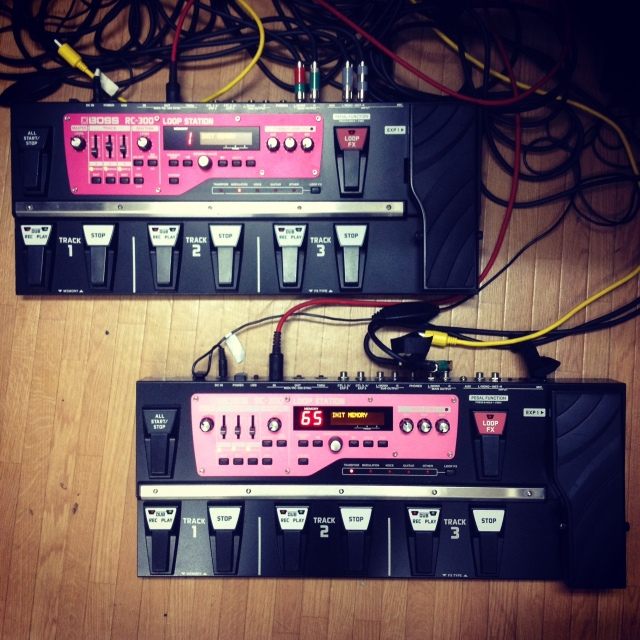 Dual Boss RC-300 Loop Stations