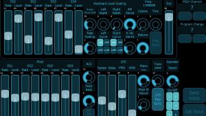 iPad Editor DX7 TX816 V5