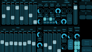 iPad Editor DX7 TX816 V5