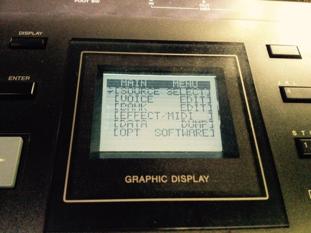 Casio FZ-1 Display Repair
