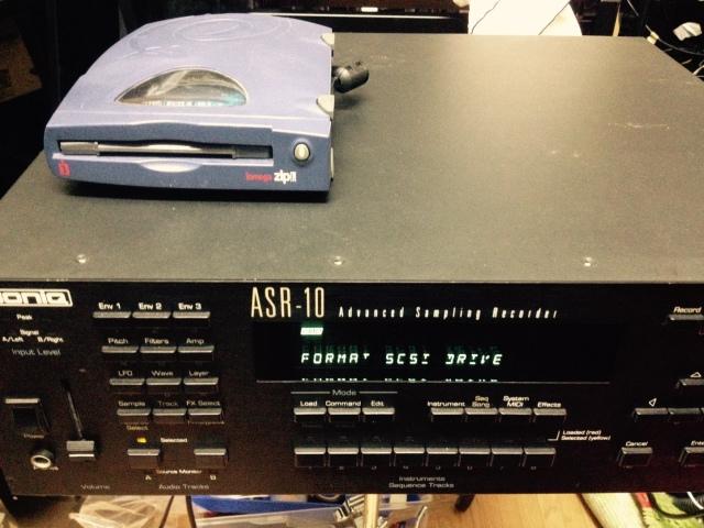 Ensoniq ASR-10 Rack Sampler